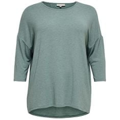 Only Carmakoma Ženska majica CARLAMOUR 15229806 Chinois Green (Velikost 3XL/4XL)