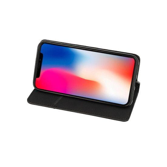 Telone Puzdro Smart Book MAGNET pre MOTOROLA G8 POWER - čierne