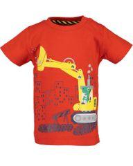 Blue Seven 928100 X_1 fantovska majica, rdeča, 74