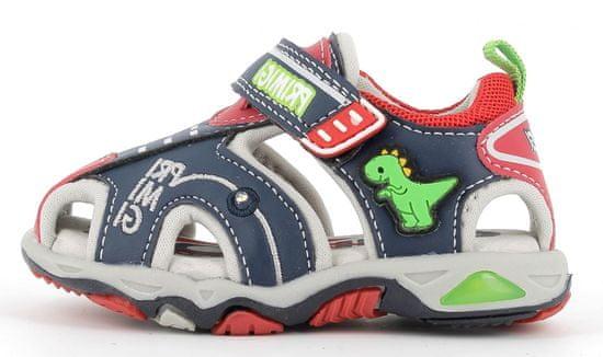 Primigi 7450911 fantovski sandali, svetleči