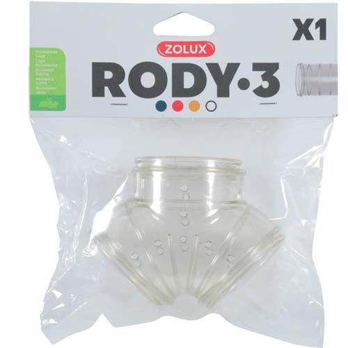 Zolux RODY3 Y formájú alagút 58x58x80mm 1db
