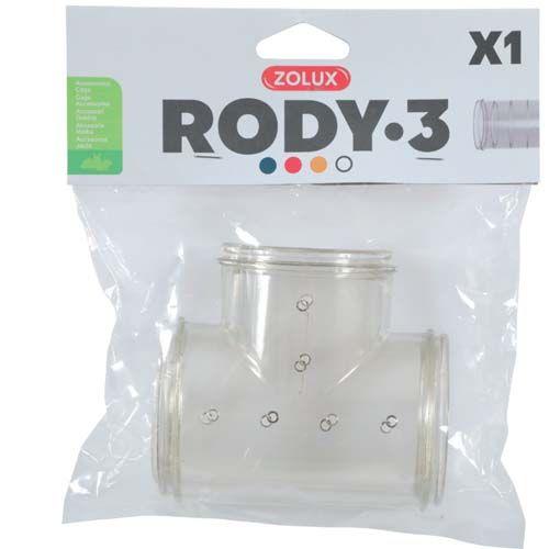 Zolux RODY3 T alakú alagút 55x98x85mm 1db