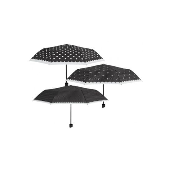 Perletti Skladací dáždnik POLKA DOTS / malé bodky, 12313