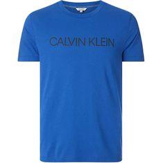 Calvin Klein Koszulka męska KM0KM00605 CREW TEE KM0KM00605 -C5D (Rozmiar S)