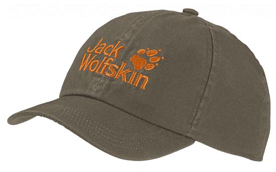 Jack Wolfskin 1901011-5066495 Kids Baseball Cap otroška kapa s šiltom, kaki
