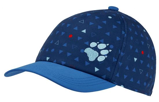 Jack Wolfskin 1906904-8054495 Splash Cap Kids fantovska kapa s šiltom, modra