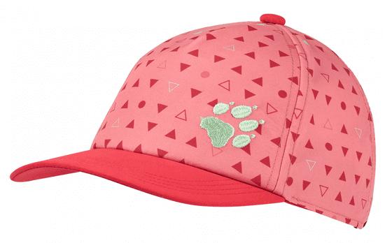 Jack Wolfskin 1906904-8296495 Splash Cap Kids dekliška kapa s šiltom, roza