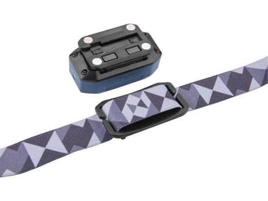 Extol Light Čelovka 480lm, USB nabíjení, IR čidlo, OSRAM LED+COB LED