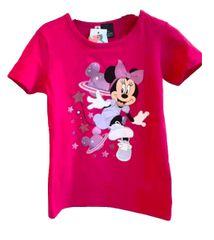 "SETINO Dekliška majica ""Minnie Mouse"" - temno roza - 116 / 5–6 let"