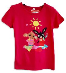 "SETINO Dekliška majica ""Bing"" - temno roza - 122 / 6–7 let"