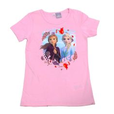 "SETINO Dekliška majica ""Frozen 2 "" - svetlo roza - 122 / 6–7 let"