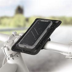 Hama Univerzális mobiltartó (7x13,5 cm), felszerelhető a kerékpár kormányára 178253