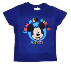 "SETINO Chlapecké tričko ""Mickey Mouse"" - modrá - 116 / 5–6 let"