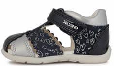 Geox dekliški sandali ELTHAN B151QC 0HI10 C0673, 23, temno modri