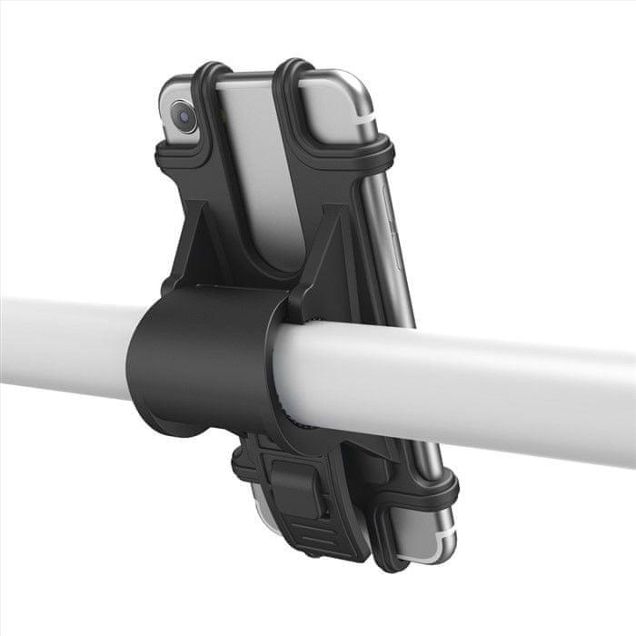 Hama držák mobilu na jízdní kolo, pro zařízení s šířkou 6-8 cm a výškou 13-15 cm 183250
