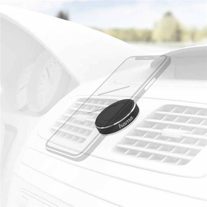 Hama Magnet, držák mobilu do vozidla, nalepovací 183283