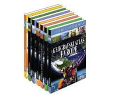 Geografski atlasi za šolo in dom - zbirka, trda vezava