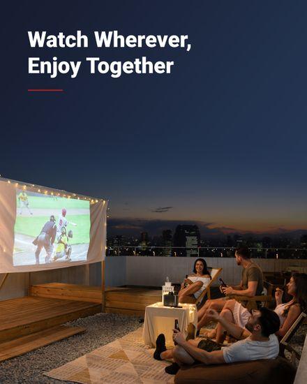 Anker Nebula Mars II Pro prenosni projektor, Android 7.1