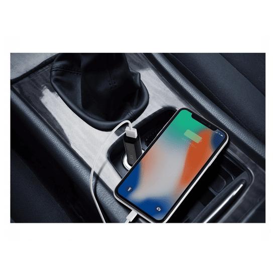 Technaxx Elektronski vžigalnik in polnilec za avto USB TX-134