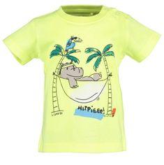 Blue Seven fantovska majica 928106 X, 68, rumena