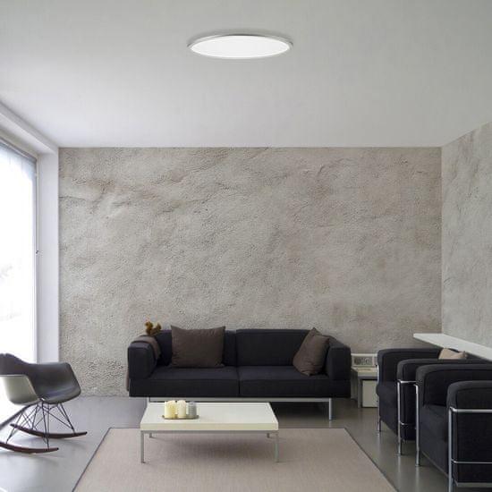 Rabalux LED svetilka 2191 Taleb, stropna, bela/srebrna