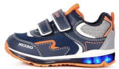 Geox chlapecké tenisky TODO B1584A 0FE14 C4324 20 tmavě modrá