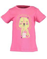 Blue Seven 901095 X_2 dekliška majica, 80, roza