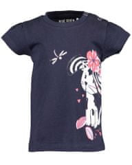 Blue Seven 901098 X_2 dekliška majica, 80, temno modra
