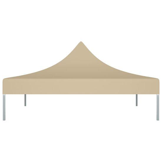 shumee Streha za vrtni šotor 2x2 m bež 270 g/m²