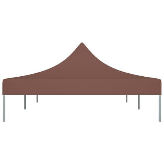 shumee Streha za vrtni šotor 6x3 m rjava 270 g/m²
