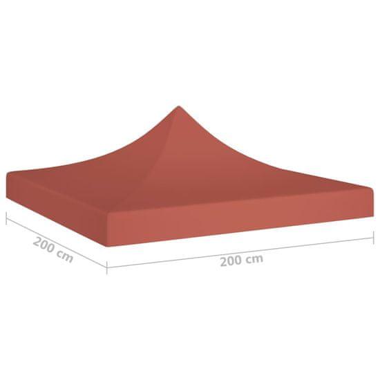 shumee terrakotta tető partisátorhoz 2 x 2 m 270 g/m²