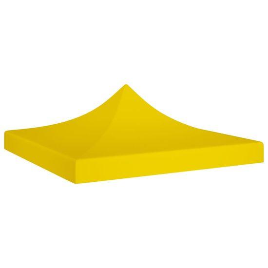 shumee Dach do namiotu imprezowego, 2 x 2 m, żółty, 270 g/m²