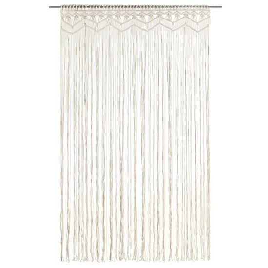shumee Macramé závěs 140 x 240 cm bavlna