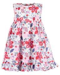 Blue Seven dievčenský šaty 919034 X 68 biele