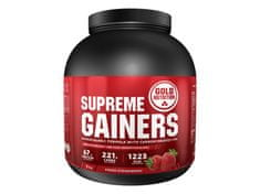 GoldNutrition Supreme Gainers 3000 g jahoda