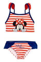 "Eplusm Dekliške dvodelne kopalke ""Minnie Mouse"" - rdeča - 116–122 / 6–7 let"