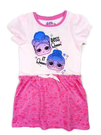 """Eplusm Gyerek ruhák """"LOL"""" - rózsaszín"""