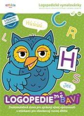 Logopedie mě baví 2. díl - Logopedické vymalovánky: Zvukomalebné slova