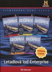 Letadlová loď Enterprise /papírové pošetky/ (5DVD) - DVD