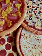 Waboba Fly Pies Pizza frizbi, 14 cm, različne barve in motivi