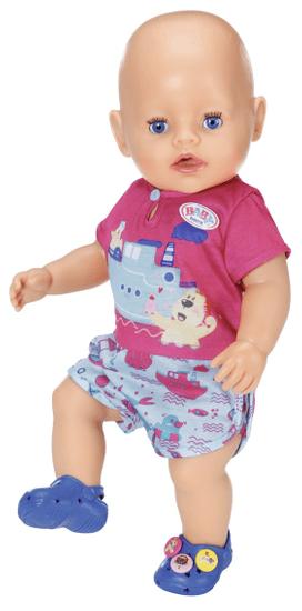 BABY born pižama in copati, 43 cm