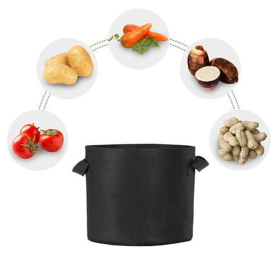HomeOgarden PlantIN sadilna vreča, 56 L, črna