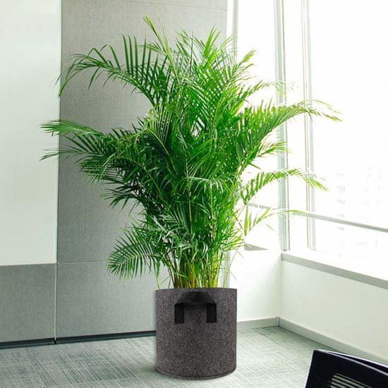 HomeOgarden PlantIN sadilna vreča, 128 L, siva
