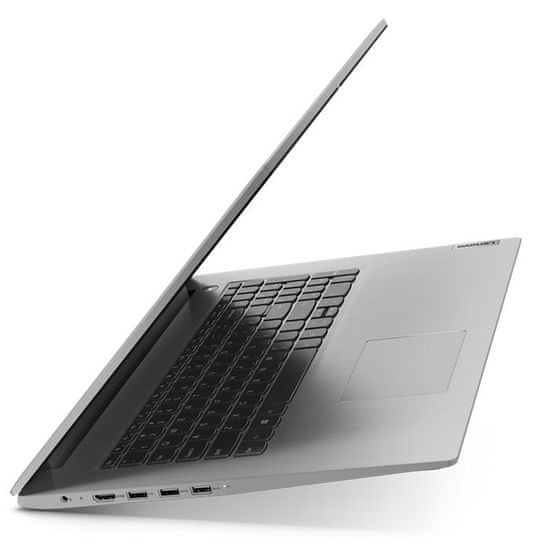 Lenovo IdeaPad 3 17,3/i5/8GB/SSD512GB/W10H prenosnik, siv (81WF0027SC)