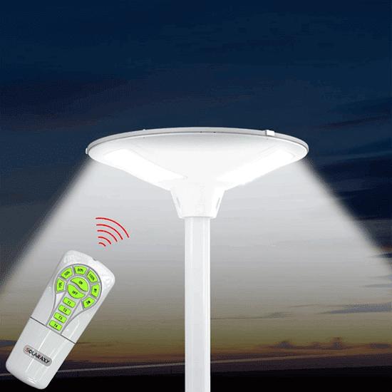 Sunen Solárna pouličná lampa SLL12 18W 2000 Lumenov s diaľkovým ovládaním