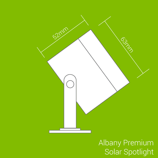 Solarcentre Solárne osvetlenie SolarCentre Albany Premium SS9885