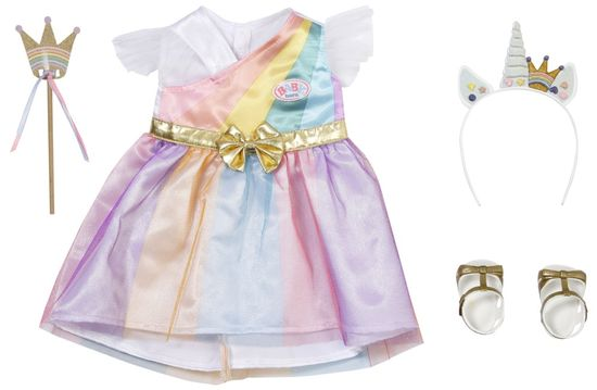 BABY born pravljična oblačila za princeso Deluxe, 43 cm