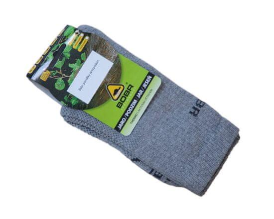 Bobr Ponožky jaro/podzim, Bobr Barva: Zelená, Velikost: 38-40