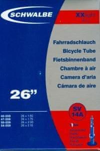"""Schwalbe Duše XX light 26"""" 95g (SV14A) (26x1.5-2.1) Set 2ks"""