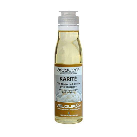 Arcocere Kojący olejek myjący po depilacji Karité Bio (After-Wax Clean sing Oil) 150 ml